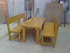 Konyha asztal, pad