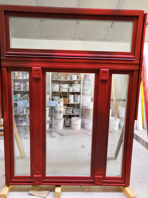 Fa ajtó, ablak gyártás, csere - Polgári lakás fa ablak kívülről