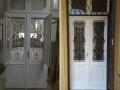 Fa ajtó, ablak gyártás, csere - Polgári lakás fa bejárati ajtó és rácsos ajtó