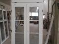 Fa ajtó, ablak gyártás, csere - Polgári lakás fa erkély ajtó