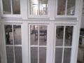 Fa ajtó, ablak gyártás, csere - Polgári lakás fa erkély ablak