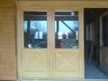 Fa kültéri ajtó
