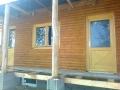 Faház, külső fa nyílászárók