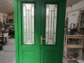 Fa ajtó, ablak gyártás, csere - Polgári lakás fa bejárati ajtó