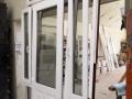 Fa ajtó, ablak gyártás, csere - Polgári lakás fa ajtó oldal ablakokkal belülről