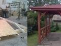 Épületasztalos - Fa kerti pavilon