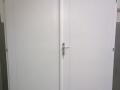 Épületasztalos - Kétszárnyú fa beltéri ajtó