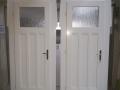 Fa ajtó, ablak gyártás, csere - Polgári lakás fa beltéri ajtó