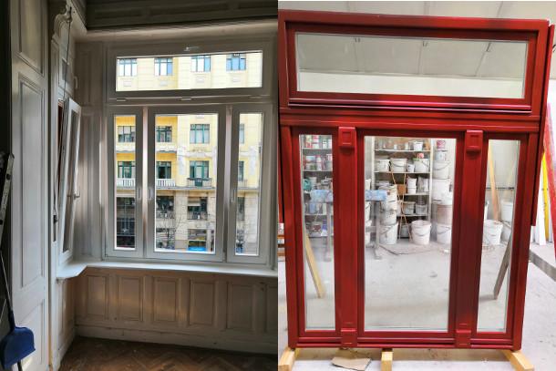 Polgári lakás ajtó ablak csere